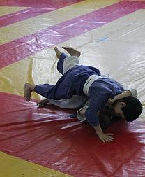 Весенние соревнования по дзюдо