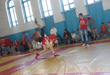 квалификационные соревнования по самбо г. Хадыженск