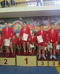 Победа на соревнованиях по дзюдо