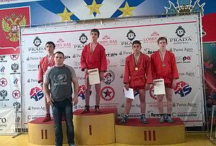 Мегрикян Армен стал призёром (3-е место) IV летней Спартакиады молодёжи 2016 по самбо